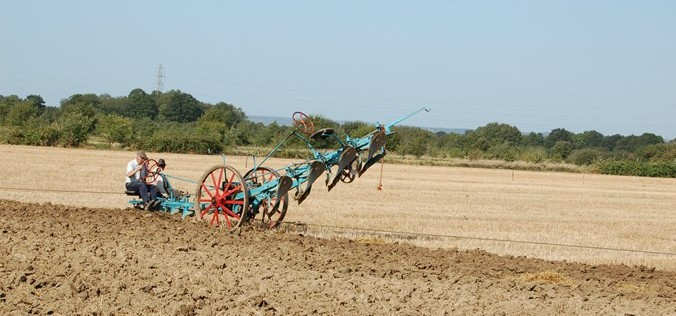 pulled plough